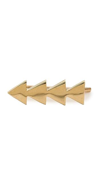 SMITH+MARA Solid Triangle Ear Crawler