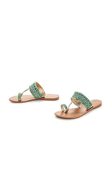 Star Mela Sabri Beaded Sandals