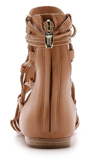 Sigerson Morrison Adal Lace Up Gladiator Sandals