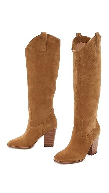 Sigerson Morrison Monna Suede Knee Boots