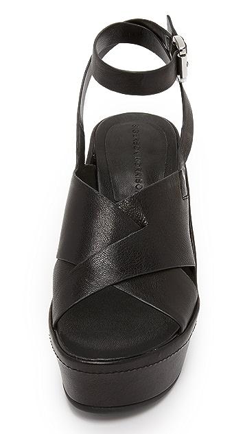 Sigerson Morrison Doe Wedge Sandals