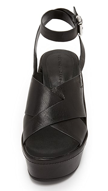 Sigerson Morrison Doe 坡跟凉鞋