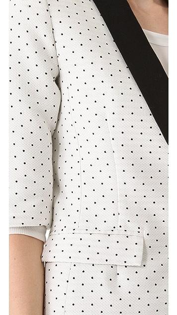 SMYTHE Pin Dot Blazer