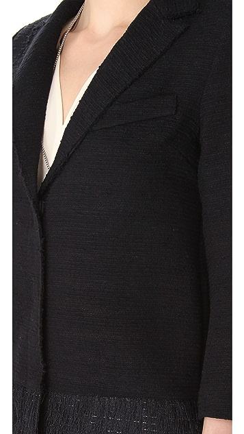 SMYTHE Fringe Coat