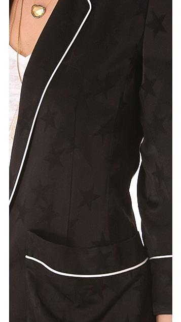 SMYTHE Star Jacquard Pajama Blazer