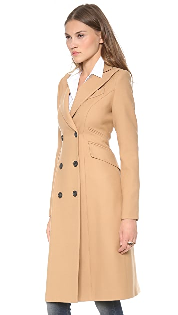 Smythe reefer coat shopbop save up to 25 use code gobig18 for Smythe designer