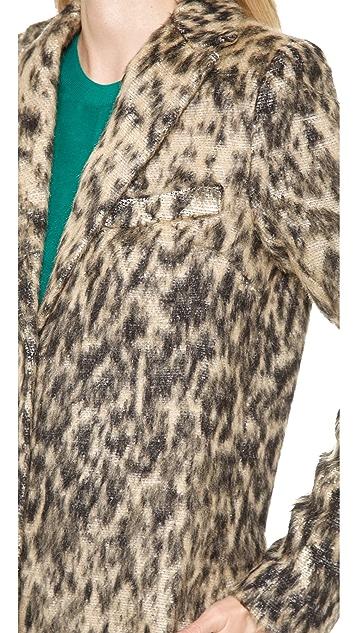 SMYTHE Leopard Lab Coat
