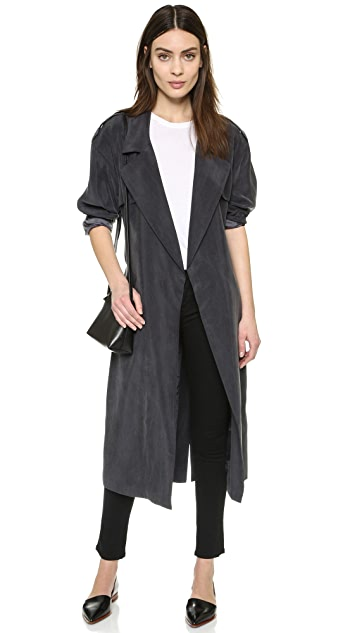 SMYTHE Wrap Trench