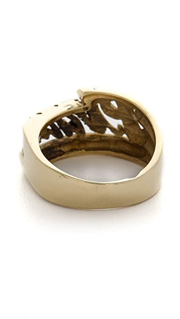 SNASH JEWELRY Pizza Ring