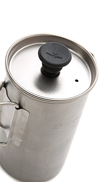 Snow Peak Titanium Coffee Press