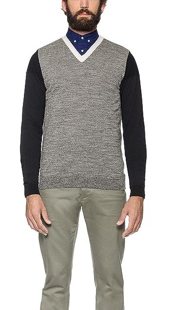 S.N.S. Herning Migration V Neck Sweater