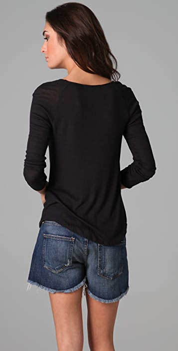 Soft Joie Robertson Ribbed Top