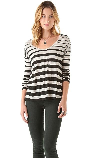 Soft Joie Gilda Variegated Stripe Top