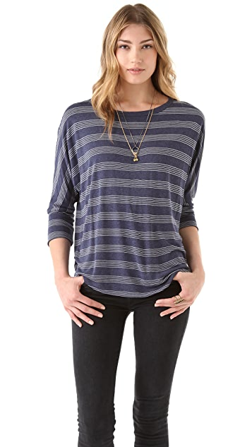 Soft Joie Sagittarius Stripe Top