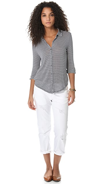 Soft Joie Shey Button Down Top