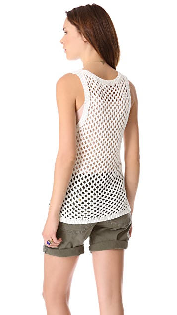 Soft Joie Brea Open Stitch Tank