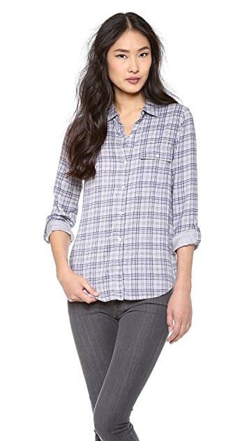 Soft Joie Onyx Button Down