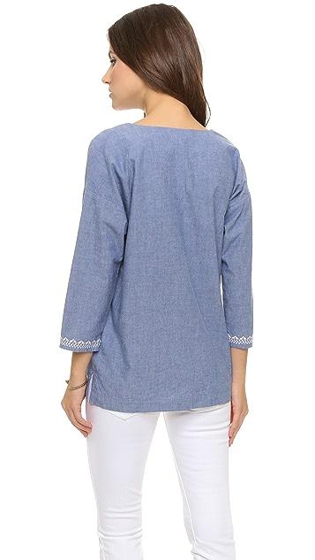 Soft Joie Блуза с вышивкой Neri
