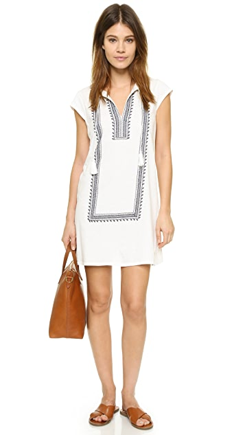 Soft Joie Yadon Embroidered Dress