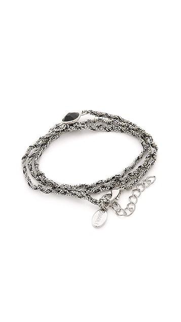 SOGOLI Stone Wrap Braided Bracelet