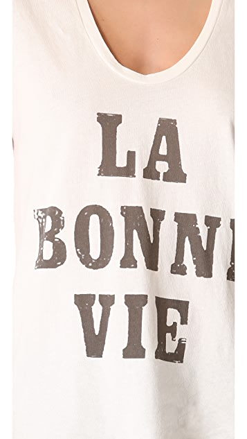 Sol Angeles La Bonne Scoop Tee
