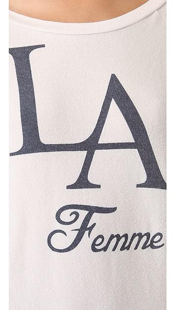 Sol Angeles La Femme Pullover