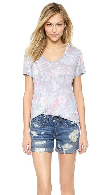 Sol Angeles Floral Noir T 恤