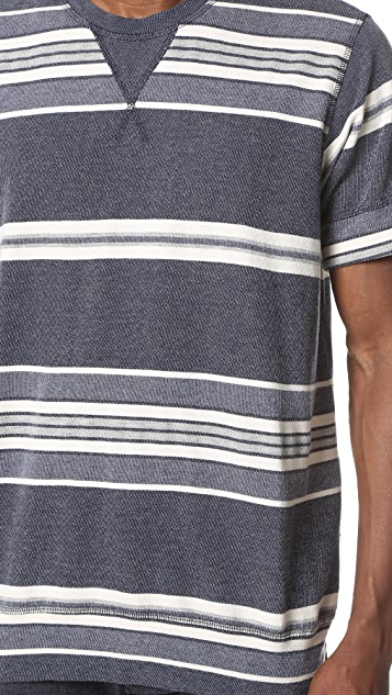 Sol Angeles Turkish Stripe Short Sleeve Crew Tee