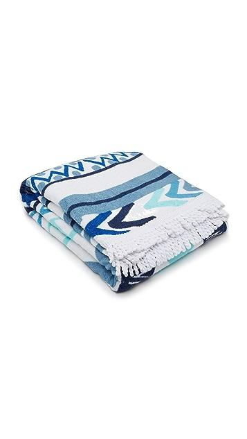 Soleil Sundial Round Beach Towel