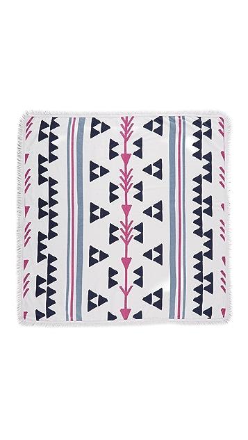 Soleil Arrowhead Square Beach Towel