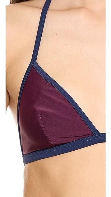 Solid & Striped Miranada Bikini Top