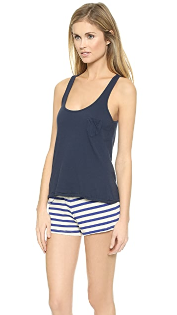Solid & Striped Cotton Tank Top