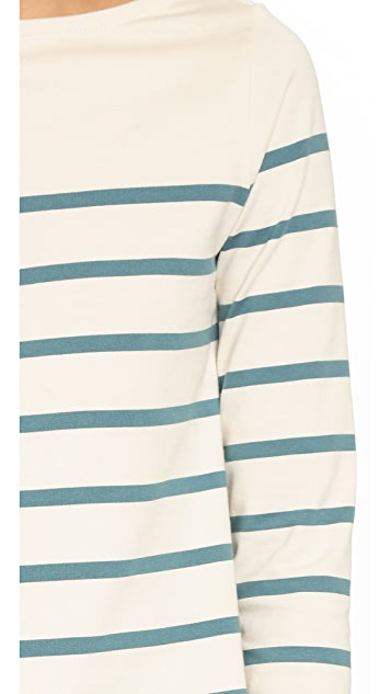Solid & Striped The Breton Boat Neck Tee