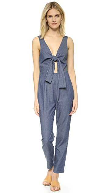 5bf499802424 Solid   Striped The Jumpsuit ...