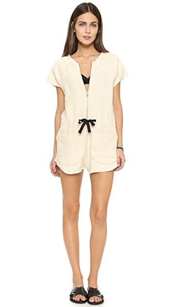 Solid & Striped The Zip Romper