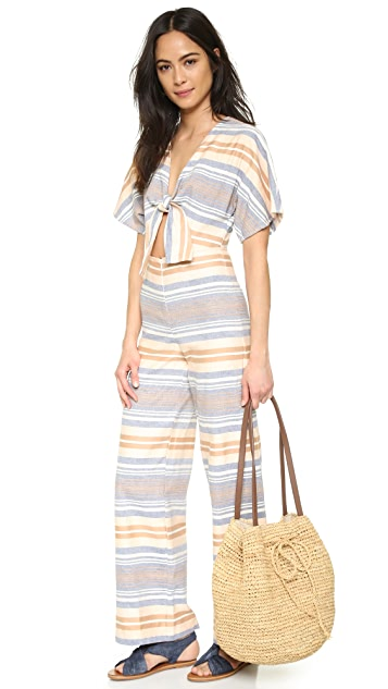 Solid & Striped The Tie Jumpsuit