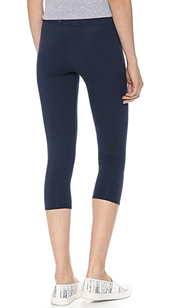 SOLOW Jersey Crop Leggings