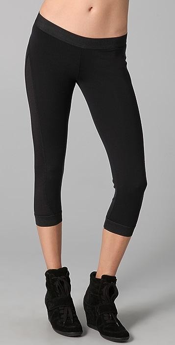 SOLOW Elastic Cuff Crop Legging