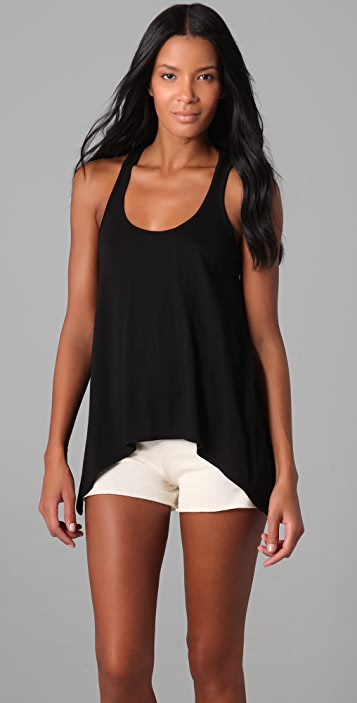 SOLOW Knotted Racer Back Swing Tank