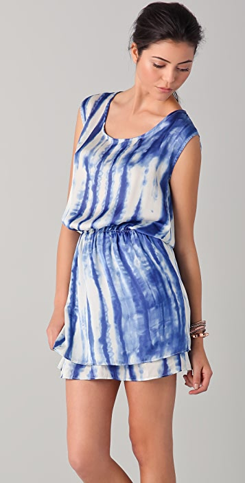 SOLOW Double Layered Shift Dress