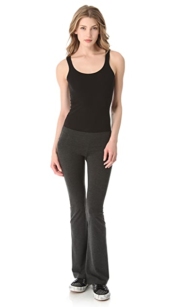 SOLOW Solid Fold Over Pants