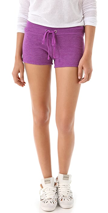 SOLOW French Terry Shorts with Mesh