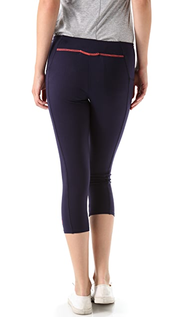 SOLOW High Waisted Cropped Pants