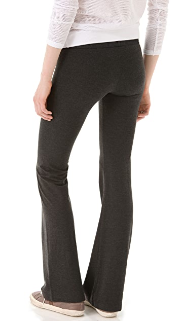 SOLOW Solid Foxy Flare Pants