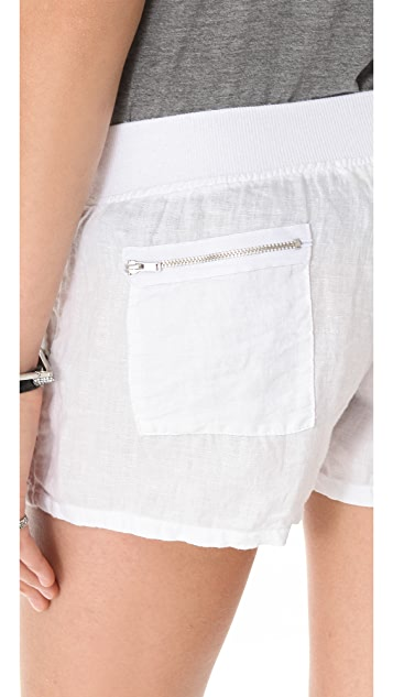 SOLOW Linen Shorts