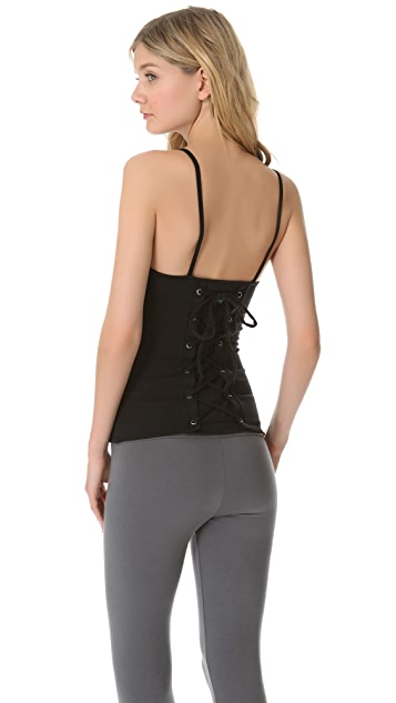 SOLOW Back Lace Camisole