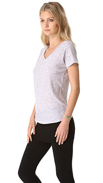 SOLOW V Neck Boyfriend Tee