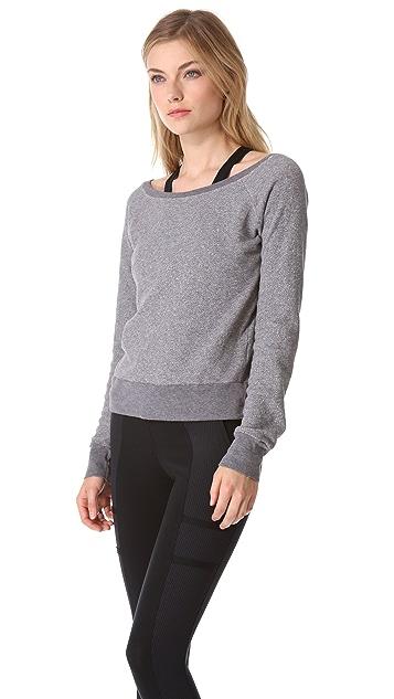 SOLOW V Back Sweatshirt