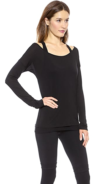 SOLOW Off the Shoulder Top