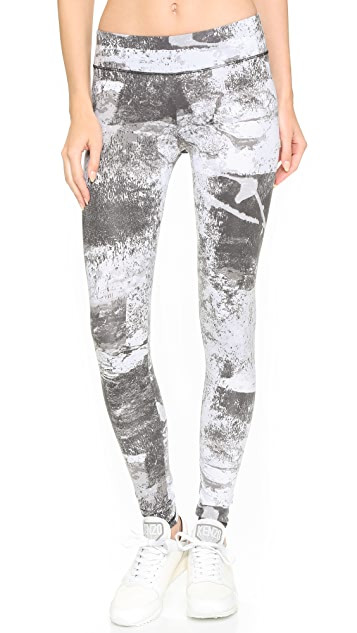 SOLOW Abstract Print Leggings